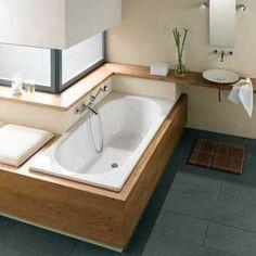 Bad in hoek inbouwen