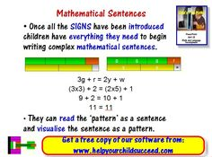 From Child's Play Maths: Unit 13 - Maths and Language Development