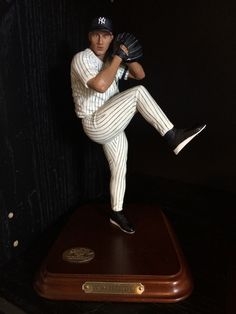 Andy Pettitte, Yankees 1 Andy Pettitte, Danbury Mint, New York Yankees, Golf Clubs, Mlb, Action Figures, Baseball, Toys, Awesome