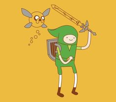 The Legend of Adventure Time!