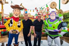 Toy Story Land Celebrates First Year Anniversary Disney Pixar Movies, Disney Toys, Tony Hale, Annie Potts, Woody And Buzz, Tim Allen, One Year Anniversary, Our Friendship