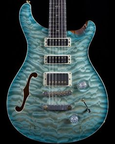 Good Lord! Paul Reed Smith Private Stock 3582 in Glacier Blue. If you have to ask how much, you can't afford it :D