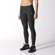 Diese vielseitigen Tights für Frauen sind ein weiches, dehnbares Basisteil für deine Sportgarderobe, das dein Training dank feuchtigkeitsableitendem Climalite® angenehmer macht. Sie haben eine körpernahe Passform, einen Taillenbund zum Hineinschlüpfen und einen integrierten, geruchsresistenten Einsatz.
