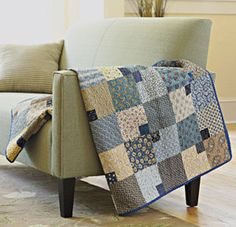 #All People Can Quilt - Scrappy Quilt Projects - Past and Present Quilt