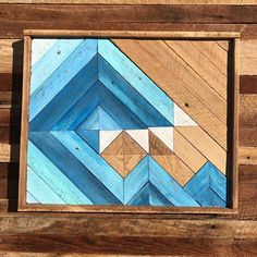 """98 Likes, 10 Comments - Solstice Woodworks (@solsticewoodworks) on Instagram: """"If you haven't heard yet I'm giving away this reclaimed wood wave! Enter a few posts back! Winner…"""""""