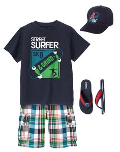 7102f5a79 Gymboree Boy Skate Camp Street Surfer Outfit Surfer Outfit