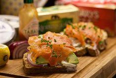Kerrygold Butter, Brown Bread, Soda Bread, Smoked Salmon, Onions, Irish, Avocado, Lemon, Lovers