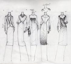 Drawings Fashion Design Croquis | 55 Croquis e Ilustrações de Moda Inspiradores | Abduzeedo Design ...