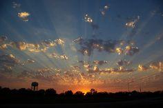 Texas Sunset - #Unspeakable