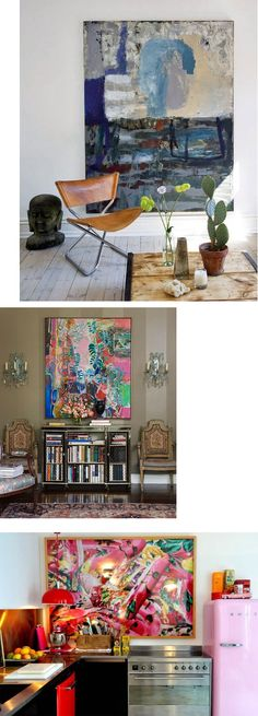 :: eye spy: design + decor to delight + inspire :: - :: eye spy Archive :: - Art makes the room