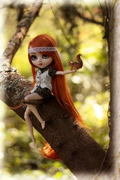 pullip doll. @Christi Spadoni this made me think of you :)