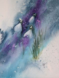 The Magic of Watercolour Painting Virtual Gallery - Jean Haines, Artist - Winter