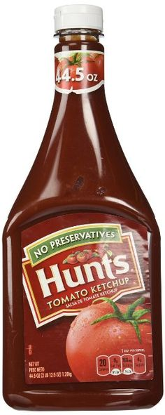 Love this stuff. Any kind of organic ketchup is delicious and super healthy, I haven't gotten sick since I've switched to this stuff. Get ketchup with NO High Fructose Corn Syrup. Hunt's 100% Natural Tomato Ketchup, 44.5 Ounce