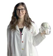 Mayim Bialik -  yes, folks, she's a real scientist!