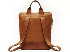 Beautifully proportioned, the Backpack Brief is the perfect size for your ipad, cellphone, notebook and other daily essentials. Adjustable backpack straps provide comfort, while short handles allow for the option of carrying a well-structured hand-held brief. Fully leather-lined with multiple interior pockets, this unisex creation is designed for allof your adventures.