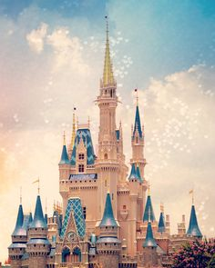 Cinderella's Castle Walt Disney World by GiaJuryPhotography, $23.50
