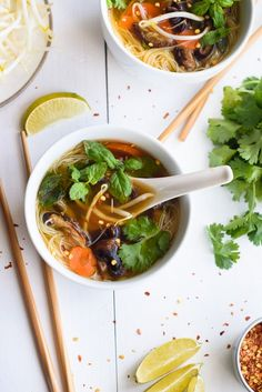 "I think ""pho"" is one of my favorite recipe words. It's not pronounced ""FO"" but more like ""feh""- kind of hard to..."