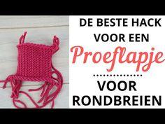 Rondbreien met een rondbreinaald // voor beginners - YouTube The Creator, Crochet Hats, Hacks, Knitting, Diy, Youtube, Knowledge, Knitting Hats, Tricot