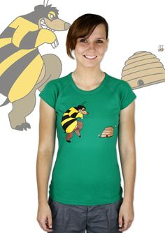 Mr. Bee Damen T-Shirt    http://www.bastard-shop.de/damen-t-shirts/mr-bee-damen-t-shirt-475/