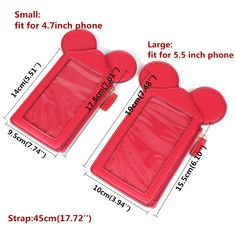 Women Touch Screen Cute Animal Shape Card Holder Phone Bag Coin Purse sales at a good price. Come to Newchic to buy a wallet, more cheap women wallets are provided online Mobile. Card Wallet, Purse Wallet, Disney Lanyard, Best Cell Phone Coverage, Mobiles, Disney Souvenirs, Disney Trips, Cute Mickey Mouse, Cell Phone Wallet