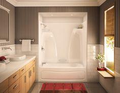 Awesome wanne dusche kombination nische badezimmer eingebaut