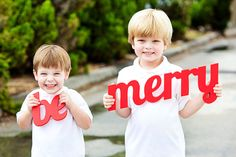 Holiday Card Ideas - Fun Photo Props! 2014 Christmas Card Ideas