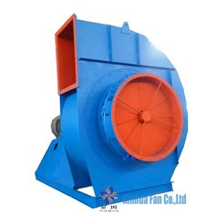 Cast Iron Low Noise Centrifugal Fan Types for Industrial Boiler