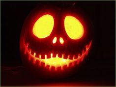 Jack Skeleton Pumpkin Stencil