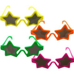 Star Sunglasses (each) - Crafts & Games & Party Supplies