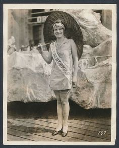1925 MISS CALIFORNIA (Fay Lanphier) MISS AMERICA PAGEANT WINNER! Vintage Photo in Collectibles, Photographic Images, Vintage & Antique (Pre-1940) | eBay