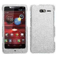Asmyna MOTXT907HPCDMS001NP Stylish Dazzling Diamante Case for Motorola Droid RAZR M XT907 - 1 Pack - Retail Packaging - Silver by Asmyna, http://www.amazon.com/dp/B00A6OVKS6/ref=cm_sw_r_pi_dp_Zigosb0BJ0GPW