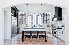 So, you're into the house hunt and are wondering whether to buy a new home that's already done or build one from scratch. A home is arguably the single lar Rta Kitchen Cabinets, White Cabinets, Upper Cabinets, Real Kitchen, Kitchen Dining, Dining Rooms, Black Kitchens, Home Kitchens, Kitchen Design Gallery