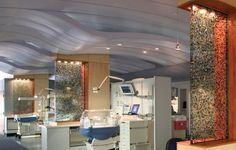 Neonatal Intensive Care Unit,  Children's Hospital of New Orleans...not the private rooms, but still with partitions for privacy and open viewing for safety.