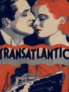 Transatlantic 1931 stars edmund lowe lois moran john halliday