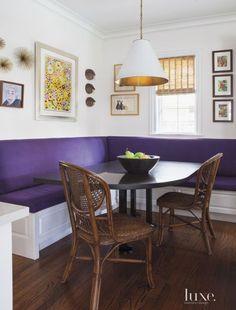 Pantone's Purple color of the year Interior Design Inspiration | KiraSemple.com