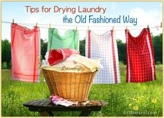 To save more money I had to learn how to do laundry all over again and start doing it the old school way--Line Drying! Enjoy these tips I learned along the way.
