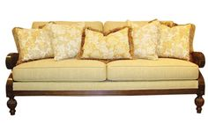 Susan Sofa Group      The Susan group takes British West Indies inspiration, and combines them with a sophisticated cover combination which is as stylish as it is practical and comfortable. Stocked also as a matching chair and ottoman. West Indies Style, British West Indies, British Colonial Style, Sofa, Couch, Chair And Ottoman, Exotic, Group, Stylish