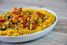 Clean Eating, Healthy Eating, Healthy Food, Rice Dishes, Fried Rice, Italian Recipes, Curry, Food Porn, Food And Drink