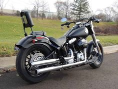Used 2016 Harley-Davidson FLS - Softail Slim Motorcycles For Sale in Michigan,MI. 2016 Harley-Davidson FLS - Softail Slim, Join the Motor City Family Today!!! 2016 Harley-Davidson® Softail Slim® The perfect blend of classic, raw bobber style and the power of a High Output Twin Cam 103B engine. A modern ride with unmistakable old-iron attitude. The good old days are right now. The Softail Slim® is study in contrasts. The Hollywood bars, slim rear wheel, cat eye console and floor boards…