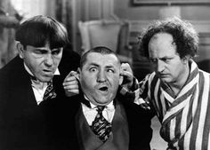 The Three Stooges were my brothers favorite and he tried all the various hand gestures and pokes on my sister and I to annoyed us. I liked the scenes when they'd mix with snobbish high society.