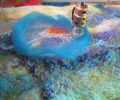 JaneVille: Needle-felting Tutorial using the sewing machine