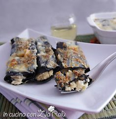 Cannelloni ripieni di pesce - In cucina con Zia Ralù