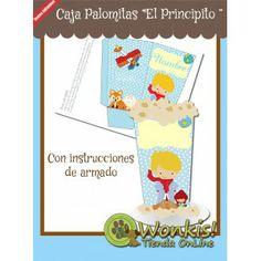 El Principito - Caja Palomitas con Textos Editables #calaparapalomitas http://www.wonkistienda.com.ar/110-el-principito-caja-palomitas.html