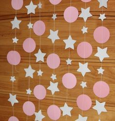 Birthday Decorations At Home, Baby Shower Decorations For Boys, Birthday Party Decorations, Diy And Crafts, Crafts For Kids, 2nd Baby Showers, Star Diy, Shower Bebe, Diy For Girls