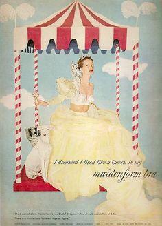 maidenform lingerie ads | Vintage Lingerie Ad - Maidenform - 1950 | Flickr - Photo Sharing!