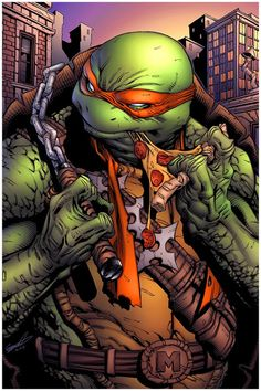 TMNT: Mikey - A Slice Will Do