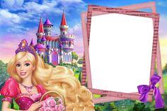 Foto Mario Bros, Barbie Birthday Invitations, Little Girl Birthday Cakes, Barbie Cartoon, Oh My Fiesta, Barbie Movies, Doll Party, Christmas Frames, Birthday Wishes