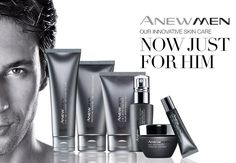 Avon has skincare for men too! Shop at http://www.YourAvon.com/HeatherFletcher #Avon #Anew #Men #Skincare