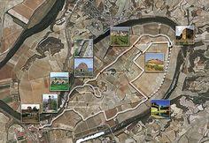 Aerial map of Lopez de Heredia Vina Tondonia City Photo, Spain, Map, Sevilla Spain, Location Map, Maps, Spanish