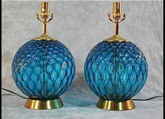 Vintage lamps from eBay Vintage Home Finds